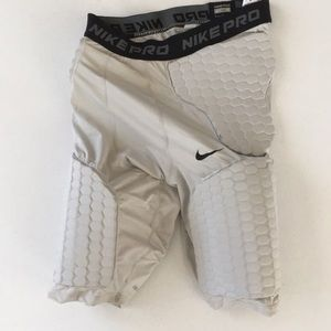 Nike pro combat basketball compression shorts.